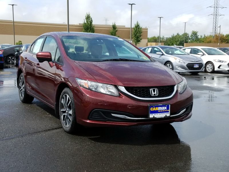 Red 2015 Honda Civic EX For Sale in Dulles, VA
