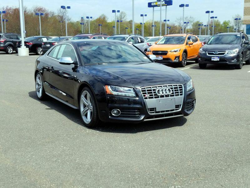 Black 2012 Audi S5 Premium Plus For Sale in Fredericksburg, VA