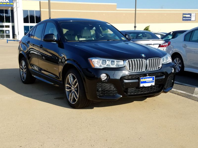 Black 2015 BMW X4 XDrive35i For Sale in Dulles, VA