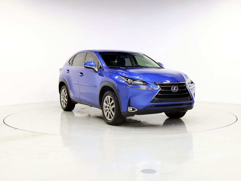 Blue 2016 Lexus NX 300h For Sale in Houston, TX