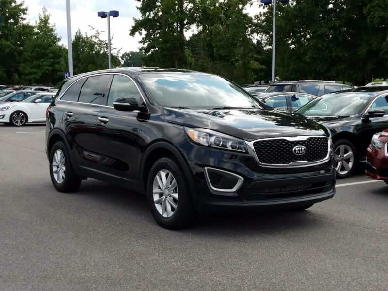 Black 2016 Kia Sorento L For Sale in Raleigh, NC