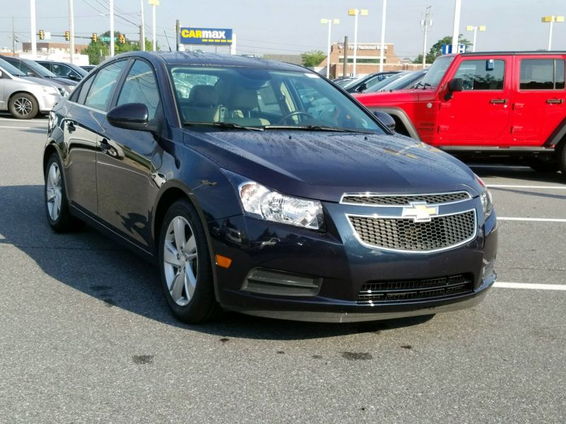 Blue 2014 Chevrolet Cruze Diesel For Sale in Brandywine, MD