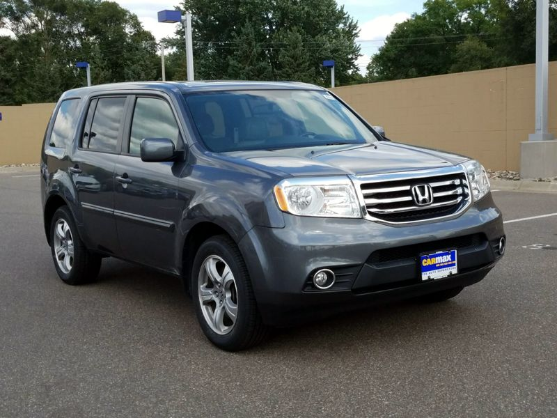 Gray 2013 Honda Pilot EX-L For Sale in Des Moines, IA
