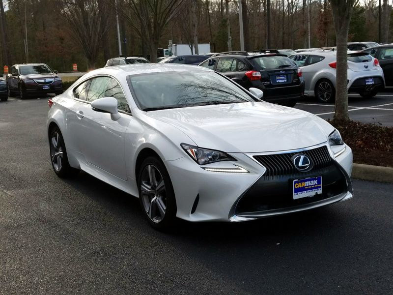 White 2015 Lexus RC 350 For Sale in White Marsh, MD