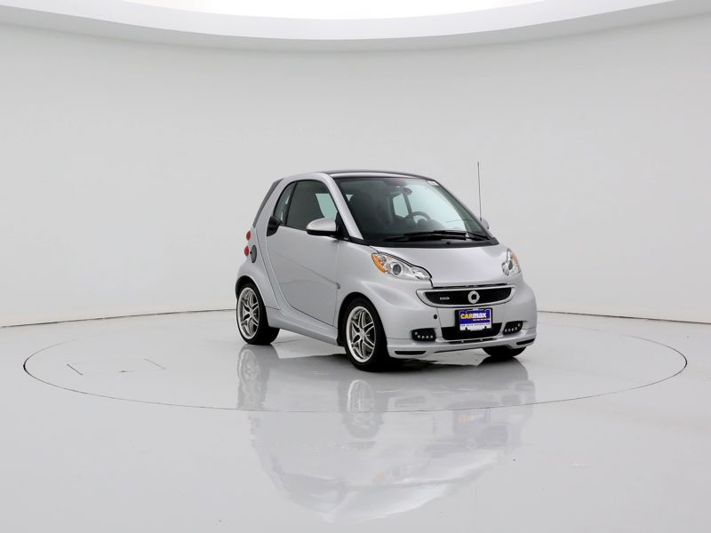 Silver 2015 Smart Fortwo Passion For Sale in Irving, TX