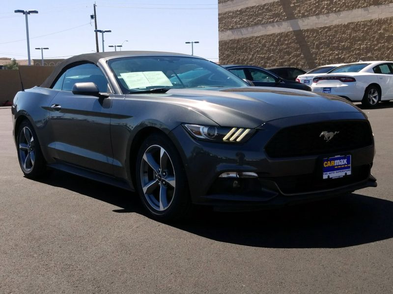 Gray 2016 Ford Mustang For Sale in Las Vegas, NV
