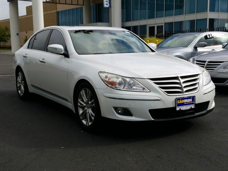 White 2011 Hyundai Genesis For Sale in Oklahoma City, OK