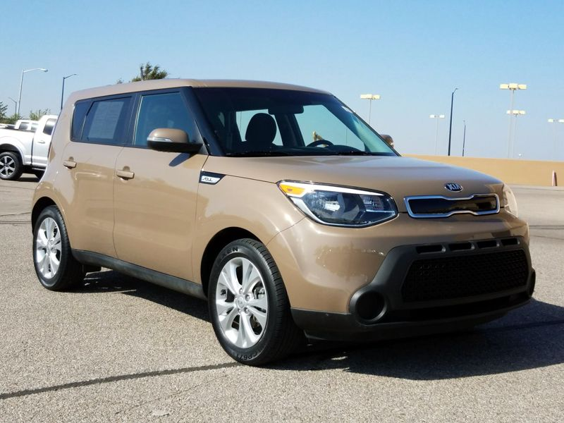 Tan 2014 Kia Soul + For Sale in Wichita, KS