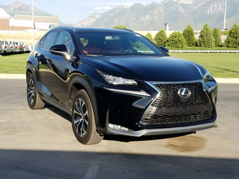 Black 2016 Lexus NX 200t F-SPORT For Sale in Salt Lake City, UT