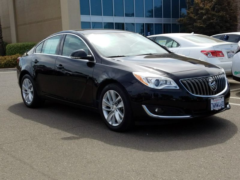 Black 2017 Buick Regal Premium 2 For Sale in Santa Rosa, CA