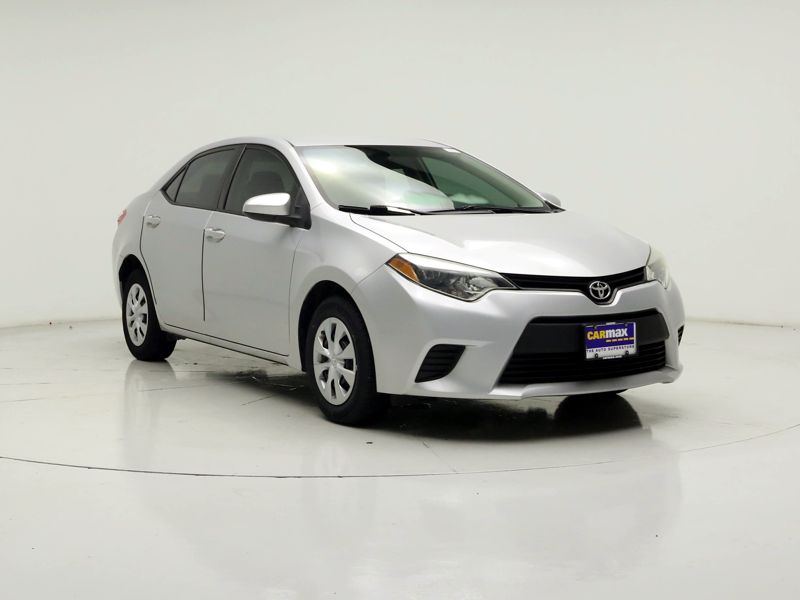 Silver 2014 Toyota Corolla L For Sale in Houston, TX