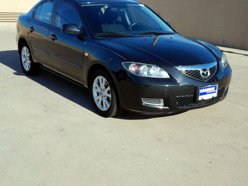 Black 2008 Mazda Mazda3 I For Sale in Houston, TX