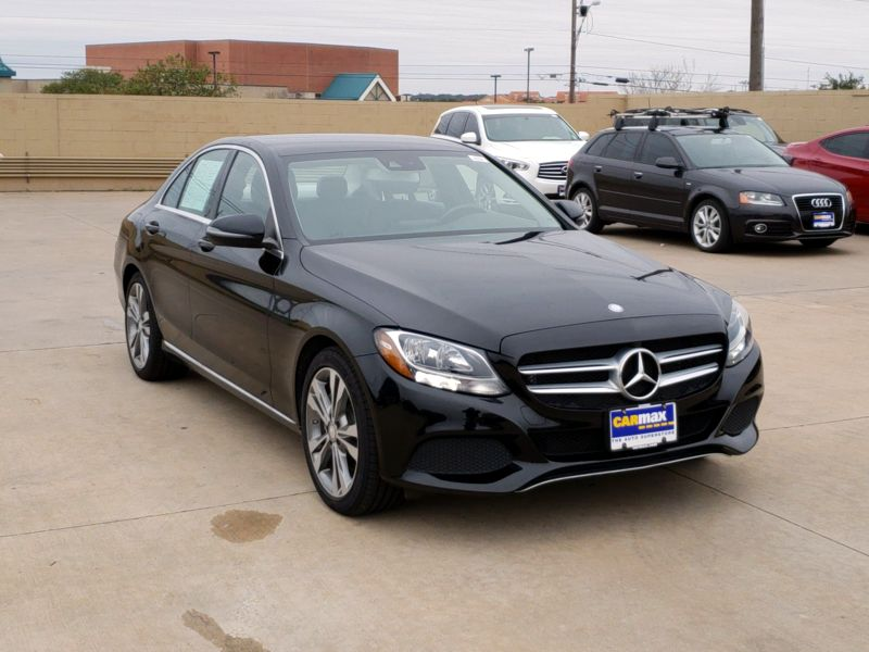 Black 2016 Mercedes-Benz C300 For Sale in Houston, TX