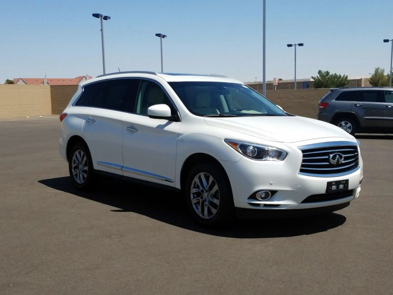 White 2015 Infiniti QX60 For Sale in Los Angeles, CA