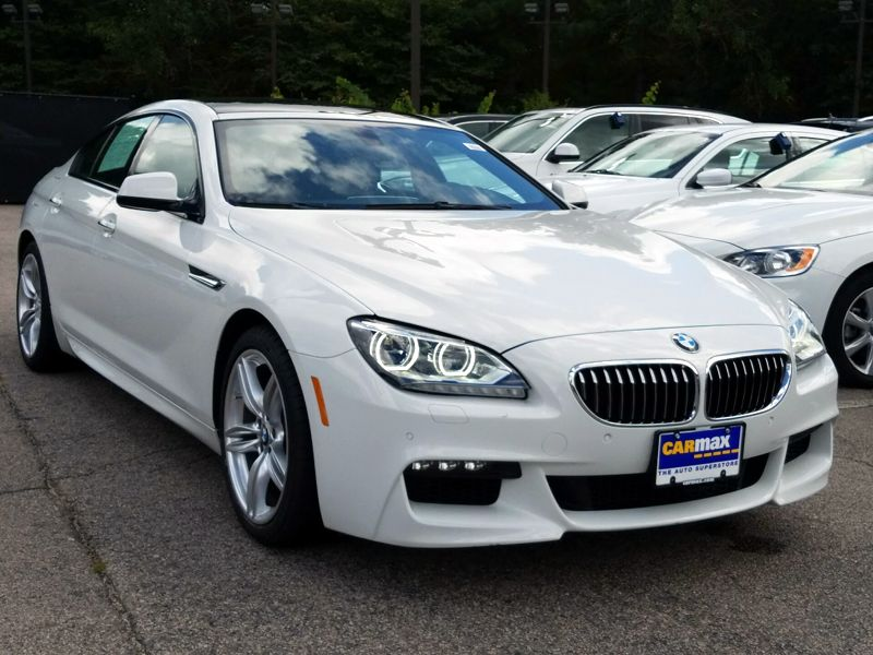 White 2015 BMW 640 XI Gran Coupe For Sale in Raleigh, NC