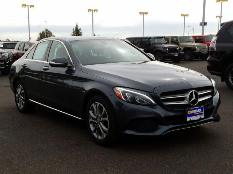 Gray 2015 Mercedes-Benz C300 For Sale in Denver, CO