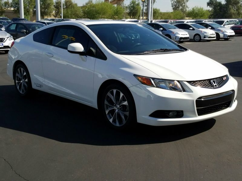 White 2012 Honda Civic Si For Sale In Tolleson, AZ