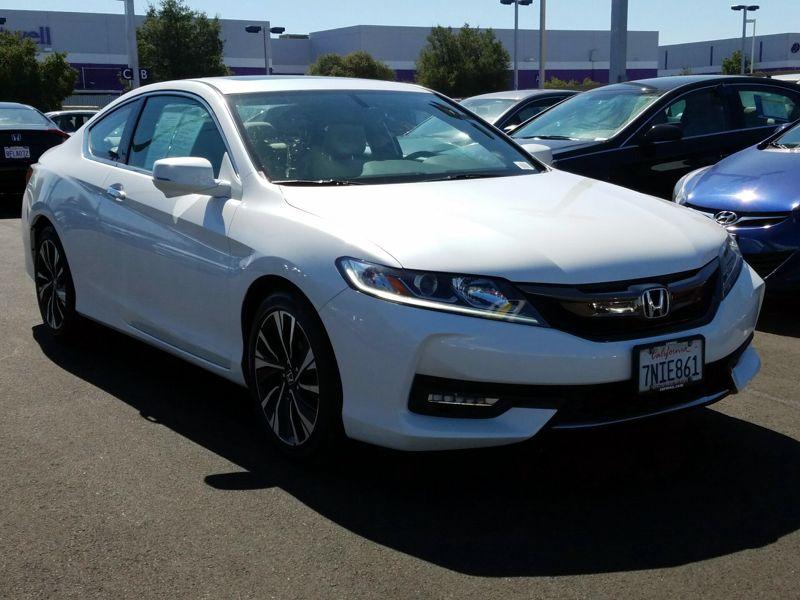 White 2016 Honda Accord EX-L For Sale in San Jose, CA