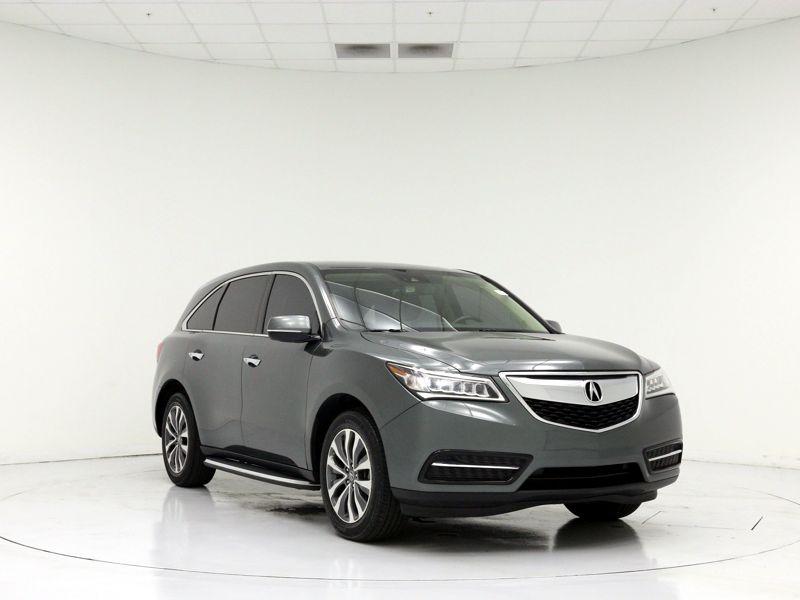 Gray 2016 Acura MDX For Sale in Miami, FL
