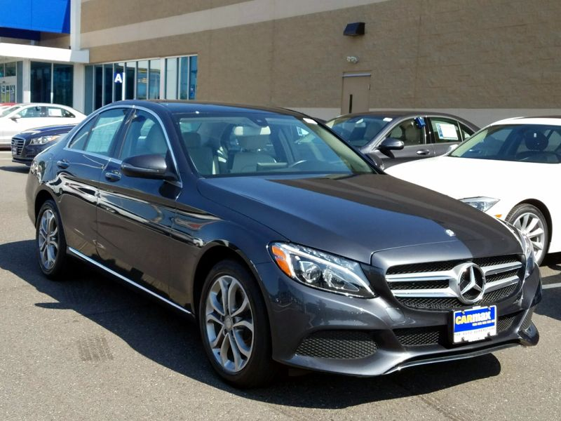Gray 2016 Mercedes-Benz C300 For Sale in Ellicott City, MD