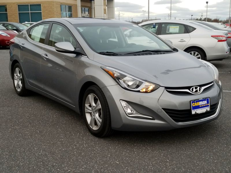 Gray 2016 Hyundai Elantra Value Edition For Sale in Laurel, MD