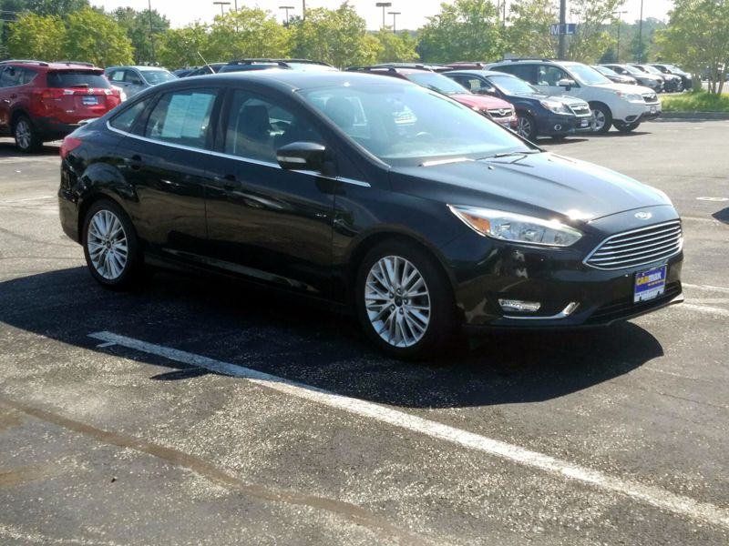 Black 2015 Ford Focus Titanium For Sale in Brandywine, MD