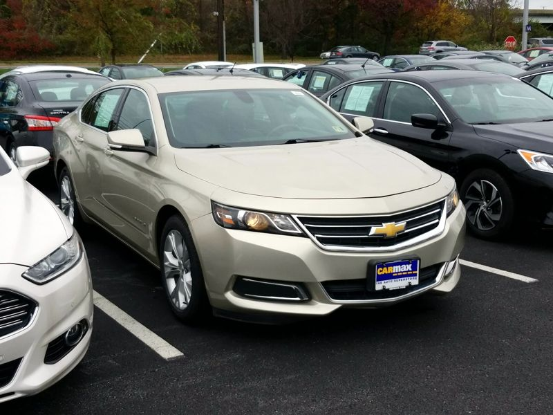 Gold 2014 Chevrolet Impala LT For Sale in Gaithersburg, MD