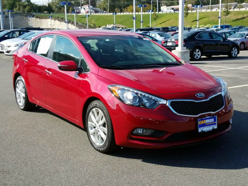Red 2015 Kia Forte EX For Sale in Boston, MA