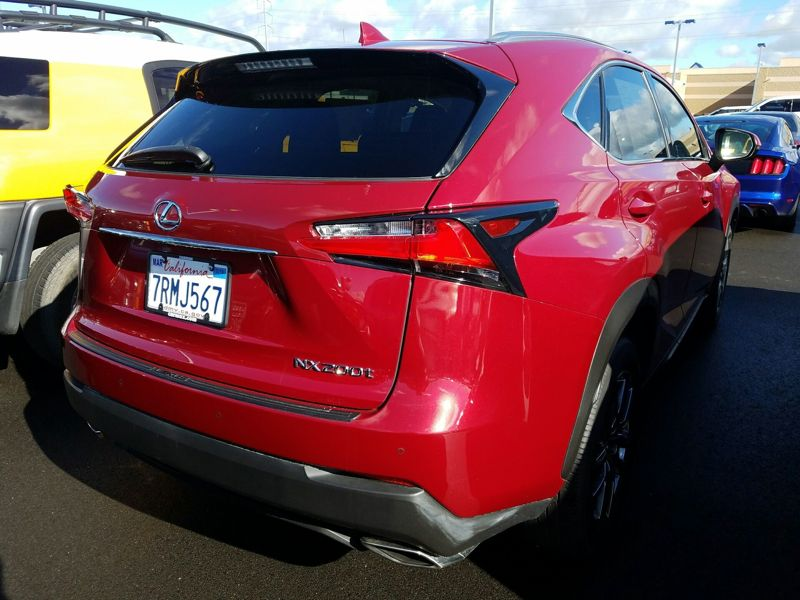 Red 2016 Lexus NX 200t For Sale in Fremont, CA