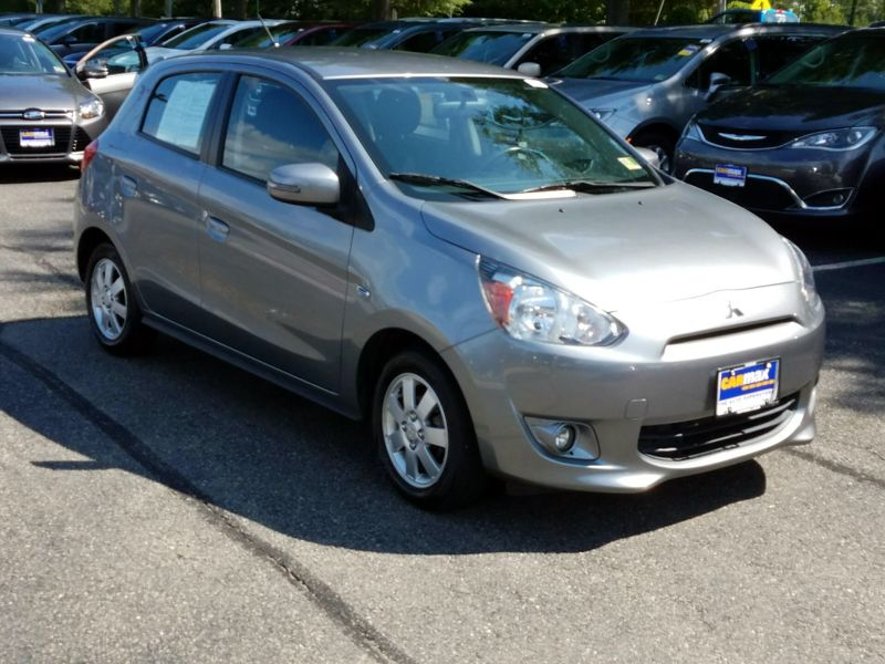 Silver 2015 Mitsubishi Mirage ES For Sale in Richmond, VA