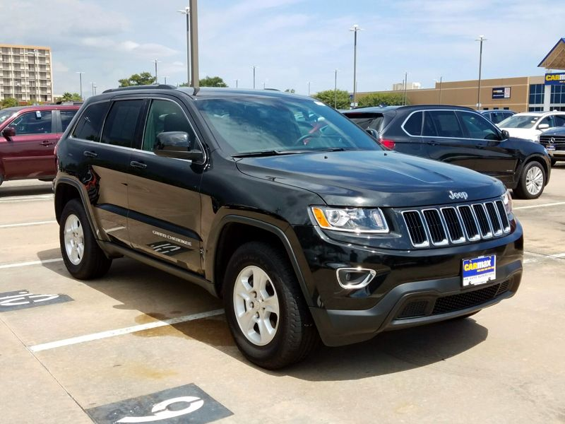 Black 2016 Jeep Grand Cherokee Laredo For Sale in Houston, TX