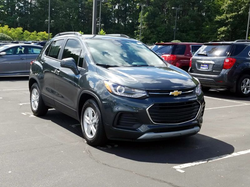 Gray 2017 Chevrolet Trax LT For Sale in Norcross, GA