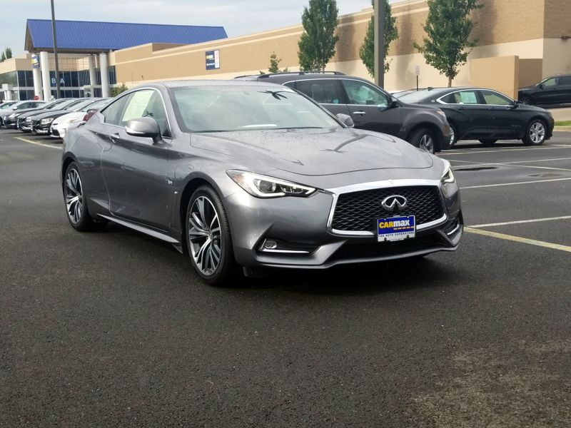Gray 2018 Infiniti Q60 Luxe For Sale in Dulles, VA