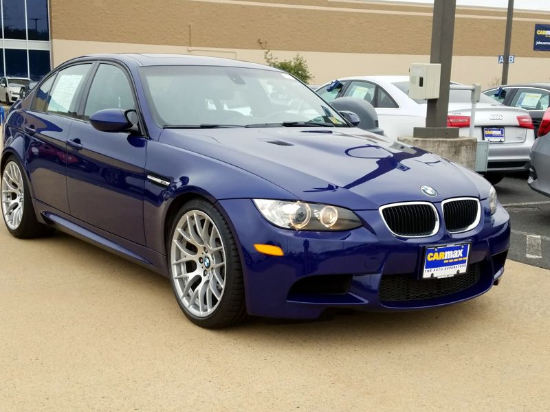 Blue 2011 BMW M3 For Sale in Dulles, VA