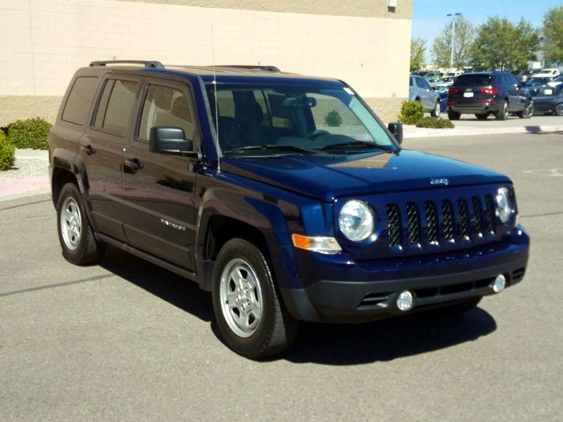 Blue 2016 Jeep Patriot Sport For Sale in Albuquerque, NM