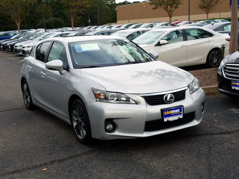 Silver 2012 Lexus CT 200h For Sale in Richmond, VA