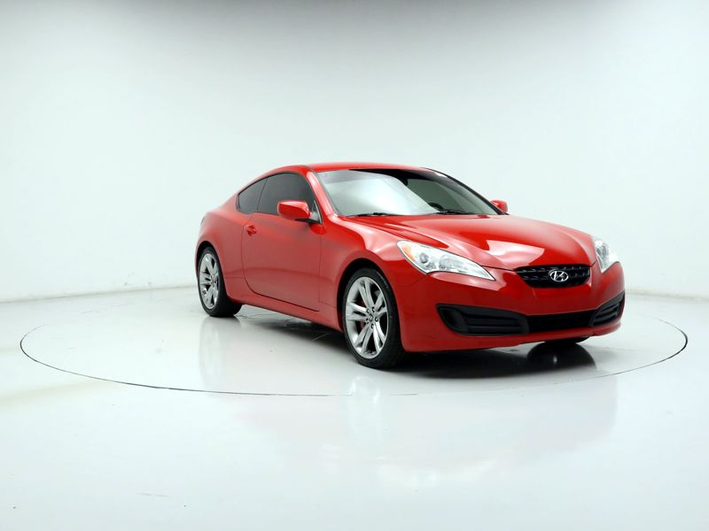 Red 2012 Hyundai Genesis R-Spec For Sale in Orlando, FL