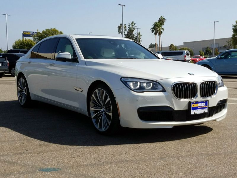 White 2015 BMW 750 Li For Sale in Los Angeles, CA