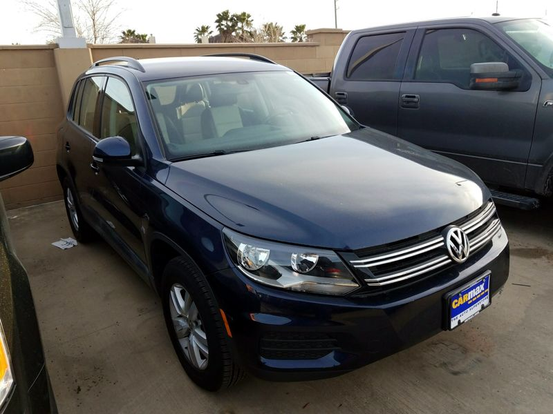 Blue 2016 Volkswagen Tiguan S For Sale in Austin, TX