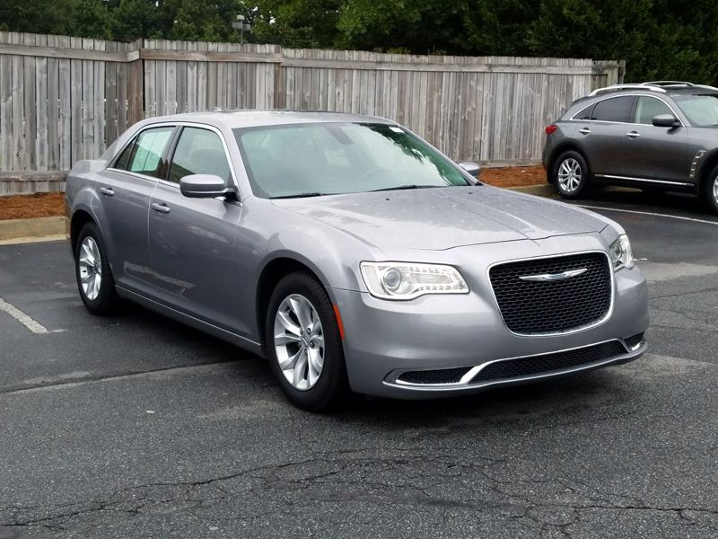Silver 2015 Chrysler 300 Limited For Sale in Norcross, GA