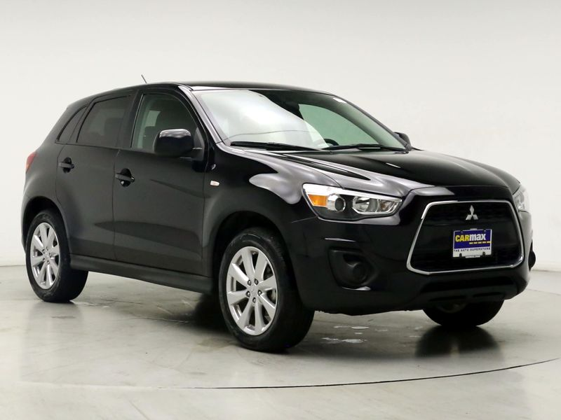 Black 2015 Mitsubishi Outlander Sport ES For Sale in Laurel, MD