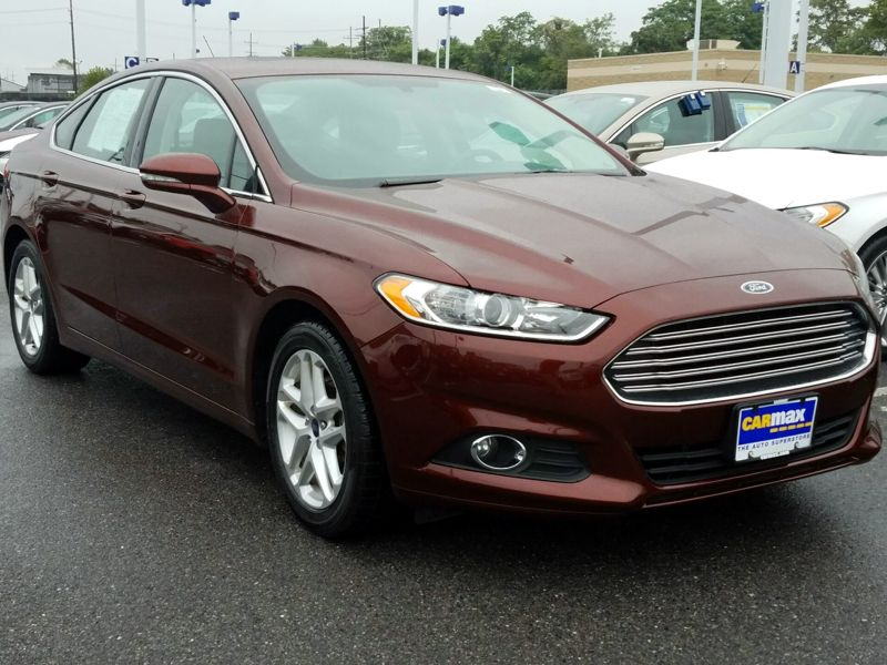 Brown 2016 Ford Fusion SE For Sale in Laurel, MD