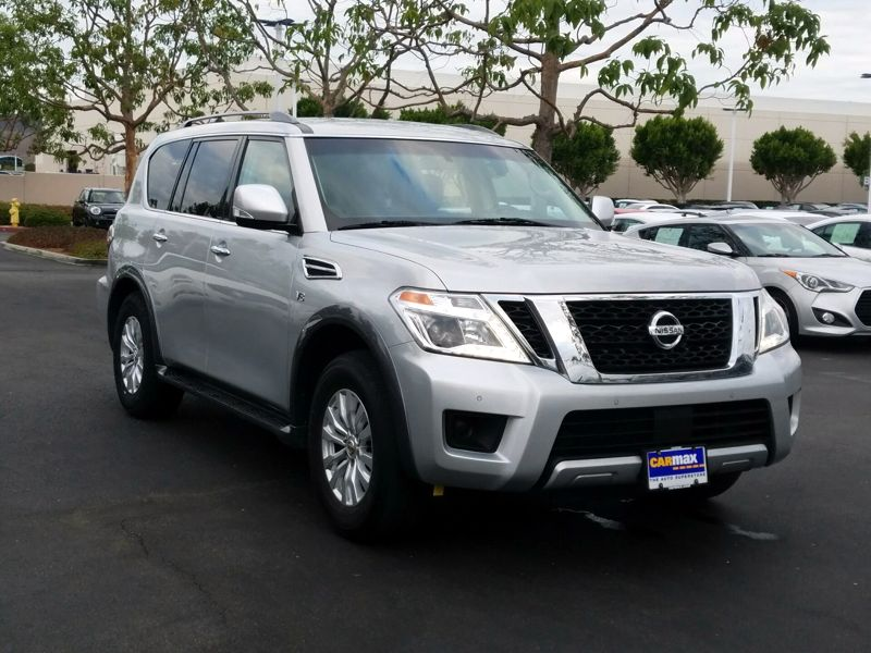 Silver 2017 Nissan Armada SV For Sale in Irvine, CA
