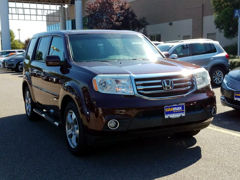 Red 2013 Honda Pilot EX-L For Sale in Virginia Beach, VA