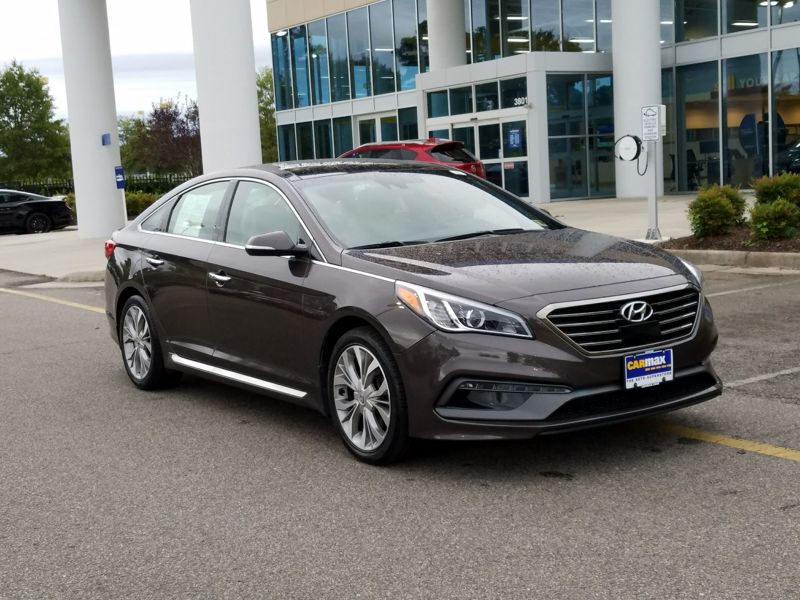 Brown 2015 Hyundai Sonata Limited For Sale in Laurel, MD