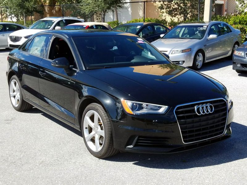 Black 2015 Audi A3 Premium For Sale in Boynton Beach, FL