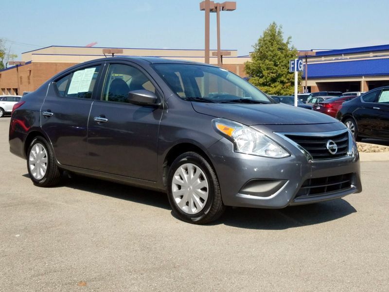 Used Cars Knoxville Tn >> 2016 Nissan Versa Sv