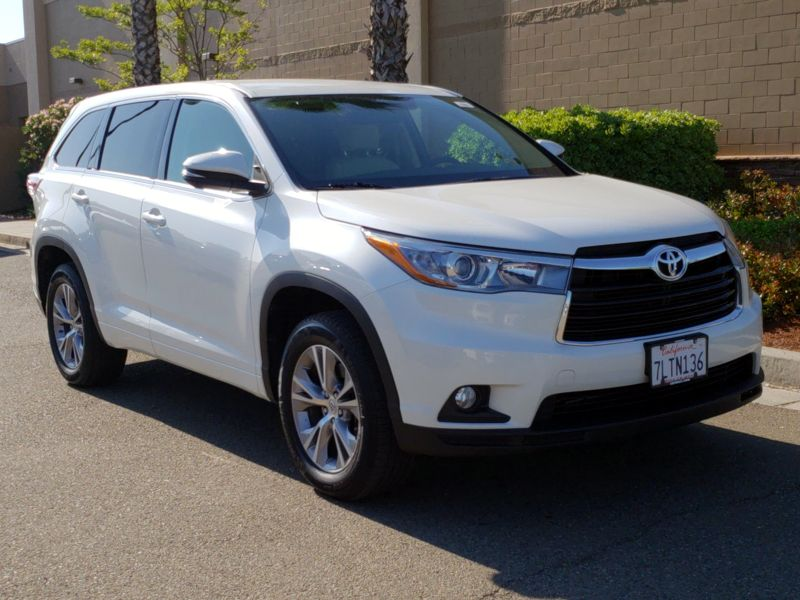 2015 Toyota Highlander For Sale >> 2015 Toyota Highlander Le Plus