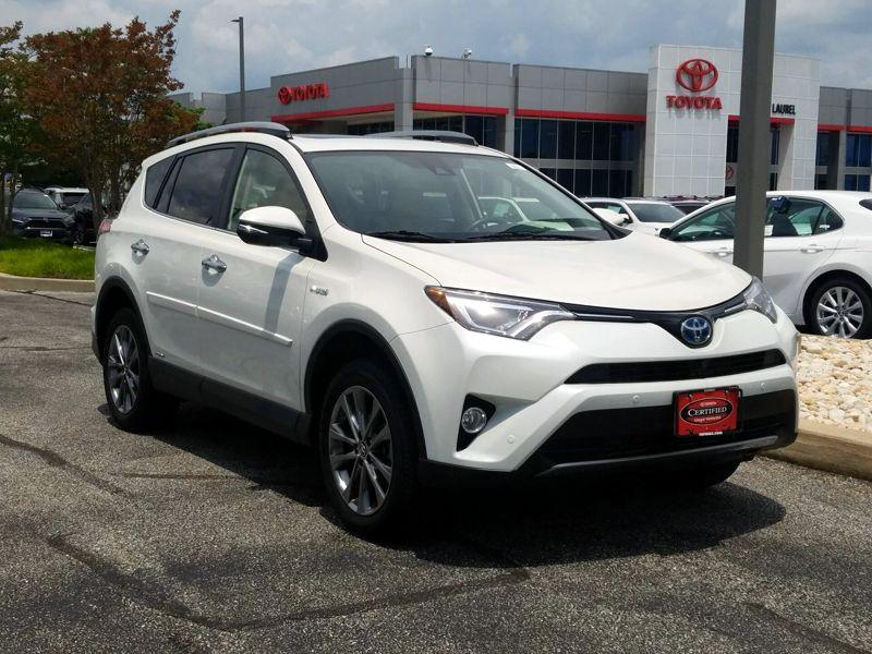 Used 2018 Toyota Rav4 Hybrid For Sale
