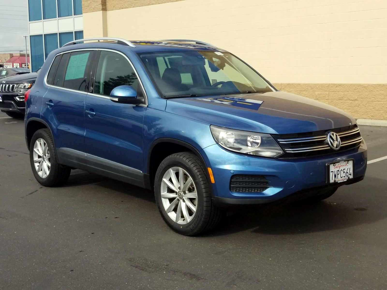 Used Volkswagen Tiguan Wolfsburg Edition Fairfield Ca
